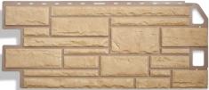 Фасадная панель Камень (жёлтый)